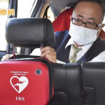 不只是個計程車司機! 車隊推「行動AED」撐起全民急救網