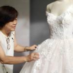 婚紗設計師錢淑貞領家族十四人受洗 神的手翻轉婚姻家庭與事業