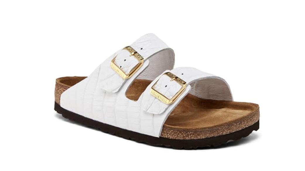 柏金包製成的鞋