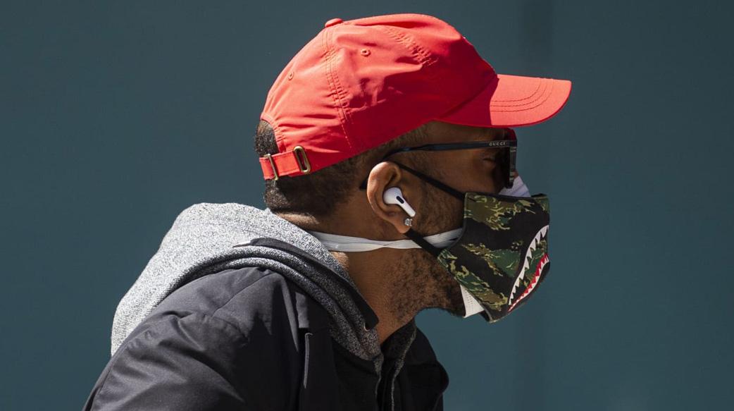 雙口罩可降低96%感染率
