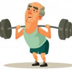 就算老了也還是要增加肌力