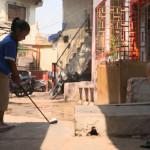 印度貧民窟新流行 高爾夫球