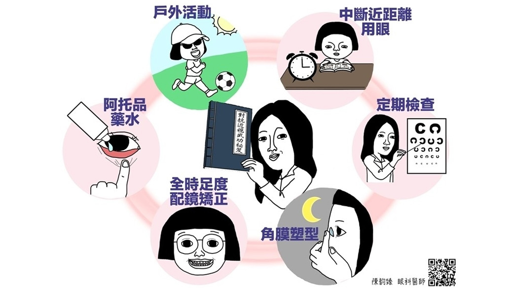 近視有救嗎?研究:兒童有效控制近視有此6招