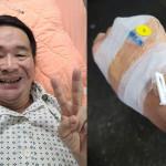 一家三口新冠肺炎高燒、失去味覺、腹瀉均得醫治 他笑著說:阿爸父第四度於危難中拯救了我!