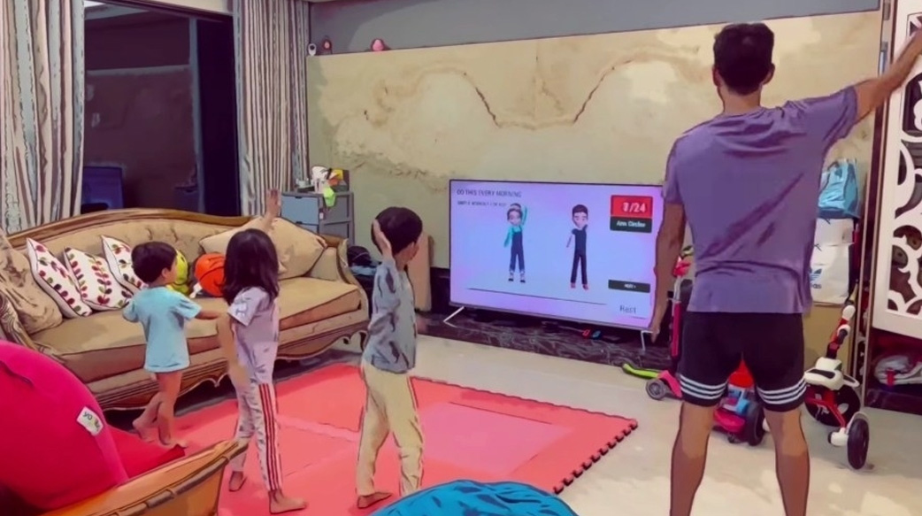 在家不悶壞!隋棠、Janet、王仁甫&季芹親子趣味遊戲好點子