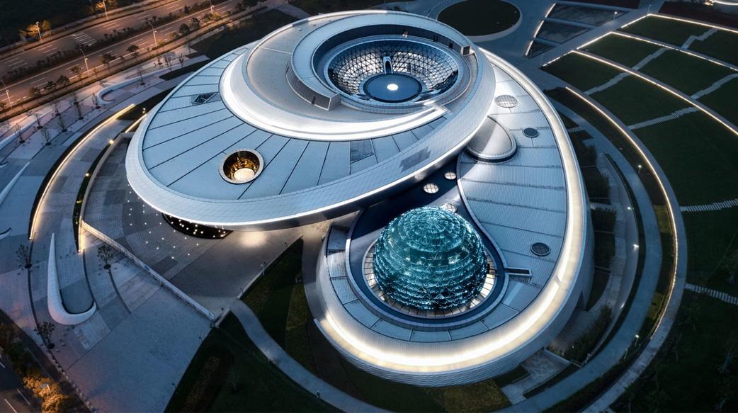 世界最大的上海天文館即將開幕