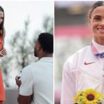 美22歲基督徒奧運跨欄金牌女將訂婚 佳偶宣示愛對方如同「基督愛教會」