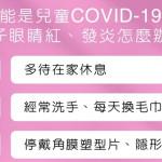 研究:兒童得COVID-19後,22.7%有紅眼症狀